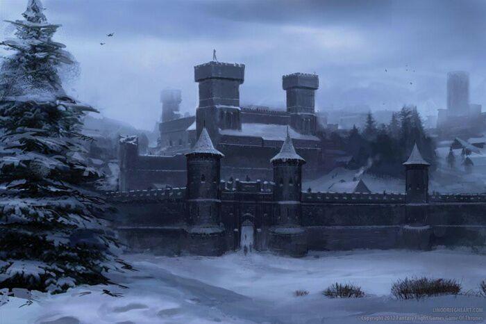 Winterfell, par Lino Drieghe