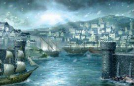 White Harbor - illustrated by Folko Streese. © Fantasy Flight Games.